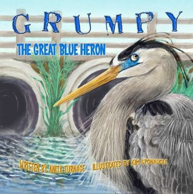 Grumpy the Great Blue Heron
